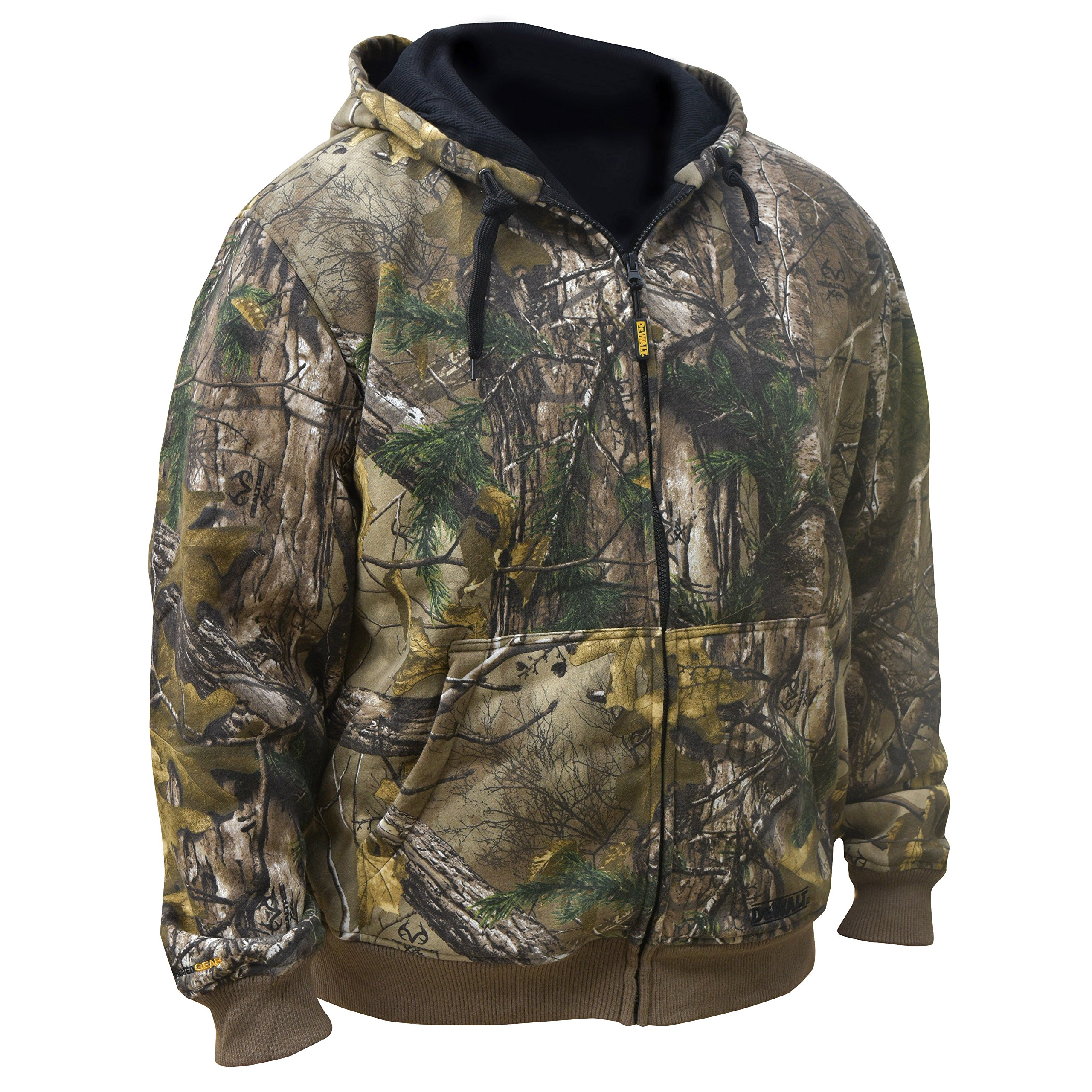 DEWALT DCHJ074D1-S Realtree Xtra️ Camouflage Heated Hoodie, Small, Camouflage
