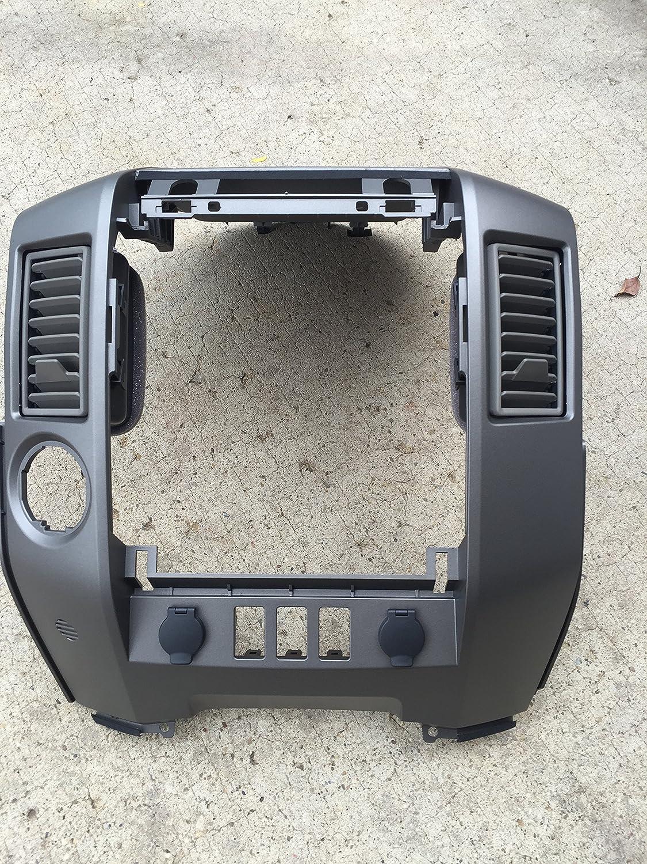 Amazon.com: NEW OEM NISSAN 2004 2006 TITAN/ARMADA CENTER DASH/RADIO AC  BEZEL WITH SPEAKER: Automotive