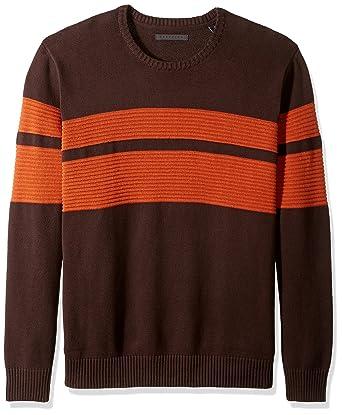 7e7bc83bc Sean John Men s Big and Tall Doube Stripe Sweater at Amazon Men s ...