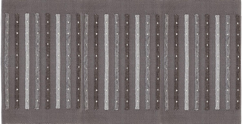 FERIDRAS Duna Tappeto, Cotone, Grigio, 60x120x71 cm, Brand 788007