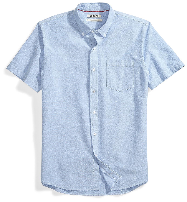 b7418d4614a3af Amazon.com: Amazon Brand - Goodthreads Men's Standard-Fit Short-Sleeve  Solid Oxford Shirt: Clothing