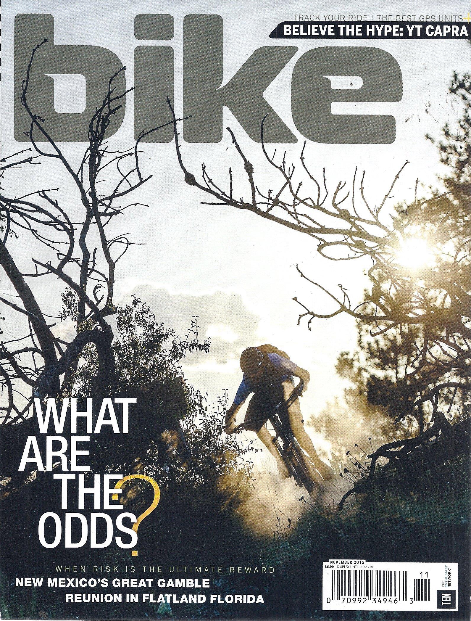 Download Bike Magazine (November 2015 - Cover: Geoff Gulevich) PDF