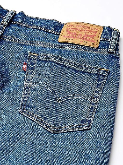 Levi/'s 514 Mens Size 44X32 Dark Wash Straight Leg Blue Jeans msrp 69.50 NWTAG