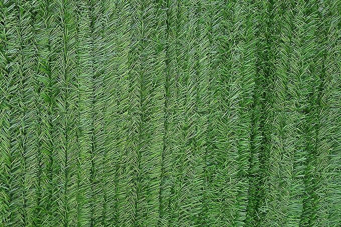 VA GARDENS Seto Artificial Verde Ocultación para Vallas (1 X 5 M): Amazon.es: Jardín