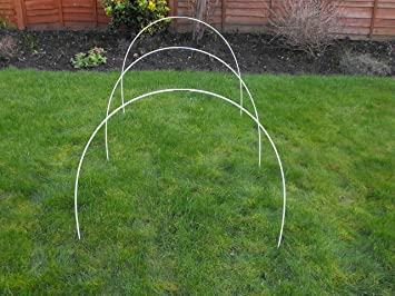 Flexible Garden Hoops Pack of 10 Amazoncouk Garden Outdoors