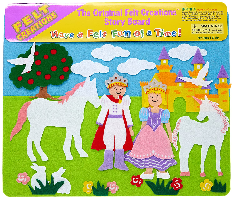Hurricane Toys Princess Castle Felt Creations Play Set HU9015