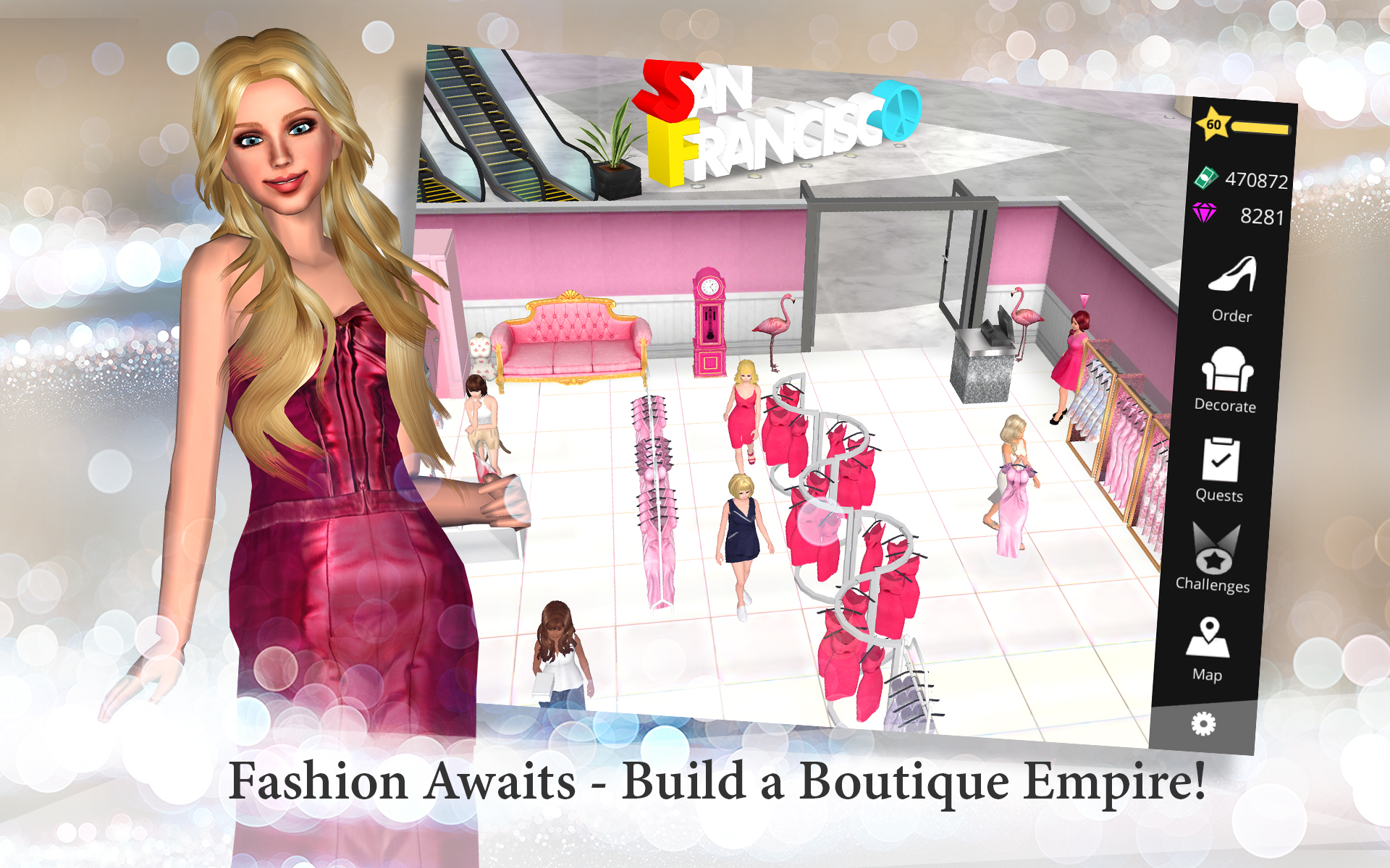 Fashion Empire Dressup Design Boutique Sim Import It All