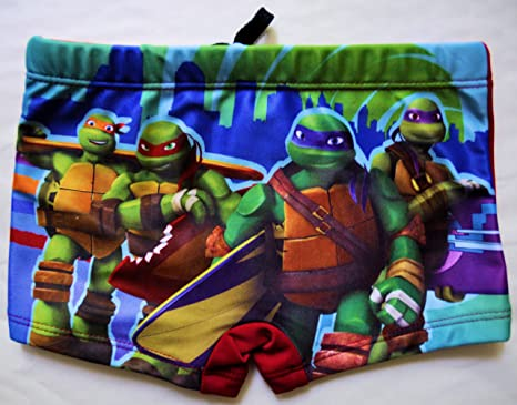 Boxer de baño/traje de baño tortugas Ninja para niño: Amazon ...