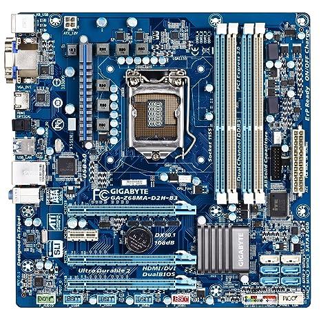 Amazon com: Gigabyte Intel Z68 Micro ATX LGA 1155