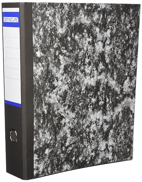 Definiclas 946604 - Archivador jaspeado, 75 mm