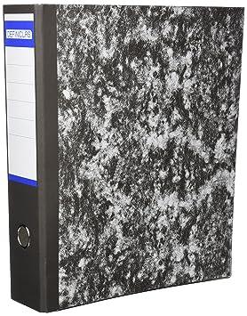 Definiclas 946604 - Archivador jaspeado, 75 mm: Amazon.es: Oficina y papelería