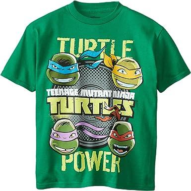 Amazon.com: Teenage Mutant Ninja Turtles - Camiseta de manga ...