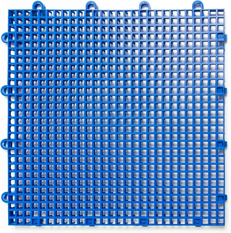 DuraGrid Comfort 12 x 12 Interlocking Tiles Beige Pack of 12
