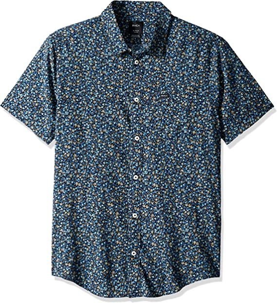 RVCA Button Down Skateboards Shirts Various Colors /& Sizes