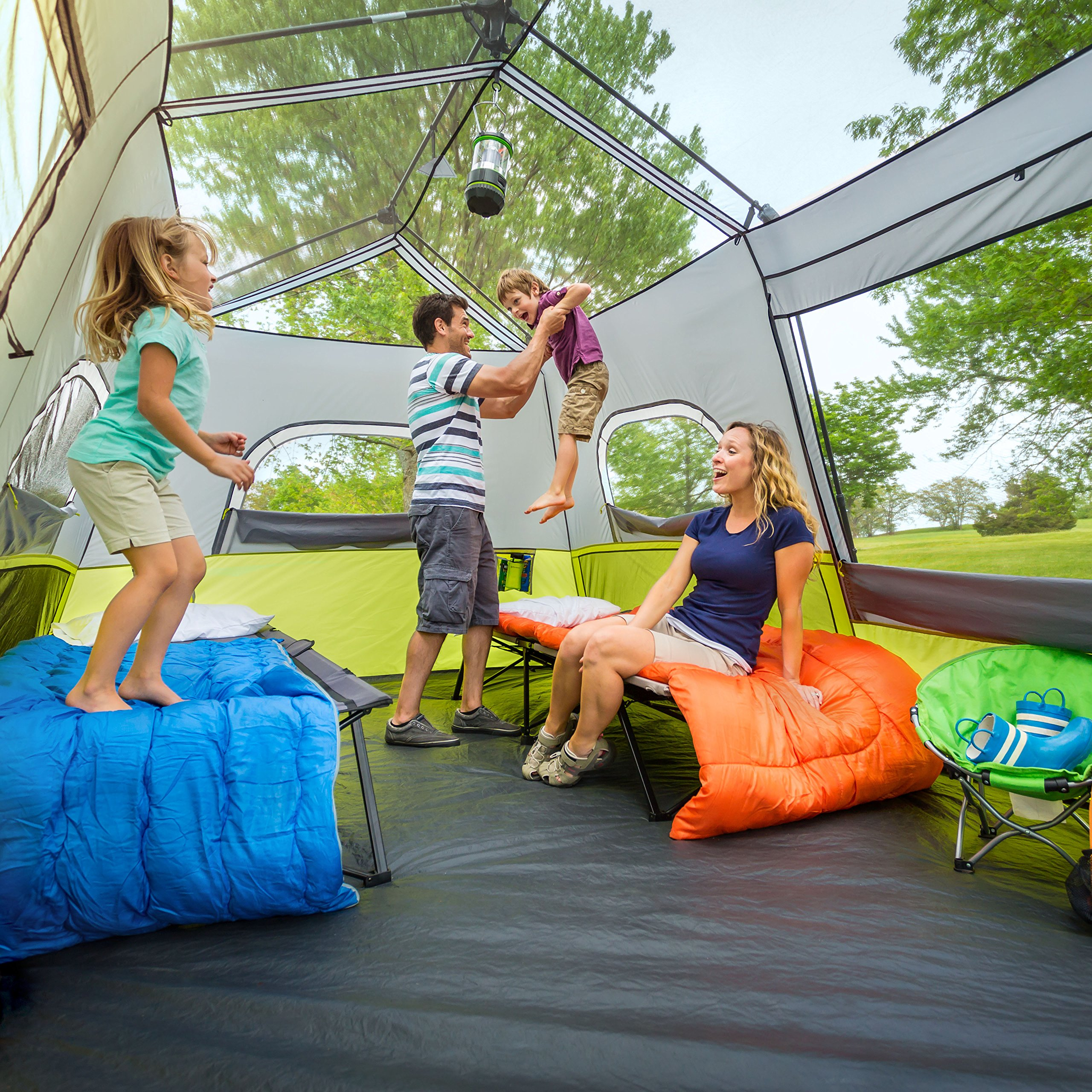 CORE 9 Person Instant Cabin Tent - 14' x 9' by CORE (Image #5)