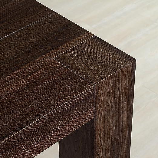 Table Console Extensible Modele Venere Chene Fonce Cm 46 306