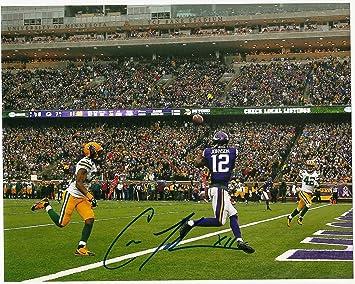 pretty nice b571a d359b Charles Johnson Minnesota Vikings Autographed / Signed 8 x ...