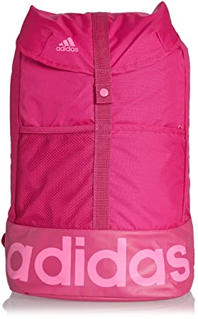 adidas Womens Linear Bag in Pink - One Size  adidas  Amazon.co.uk ... 1aa38d4af71c7