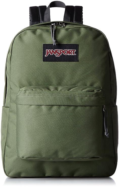 dc137f516a9b Amazon.com  JanSport Unisex Black Label SuperBreak Muted Green ...