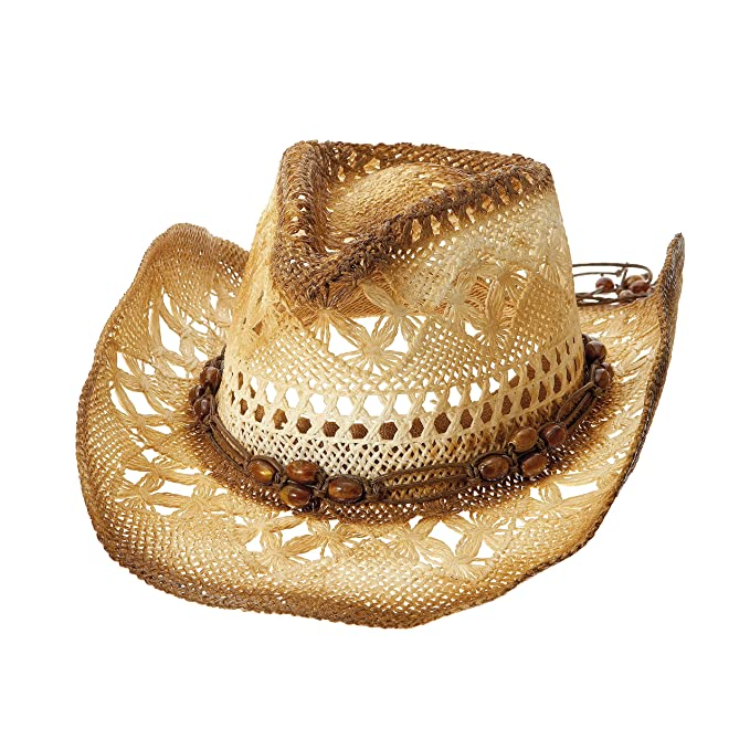Image Unavailable. Image not available for. Color  MG Unisex Outback Paper  Straw Cowboy Hat-8173 b4304d6a01d