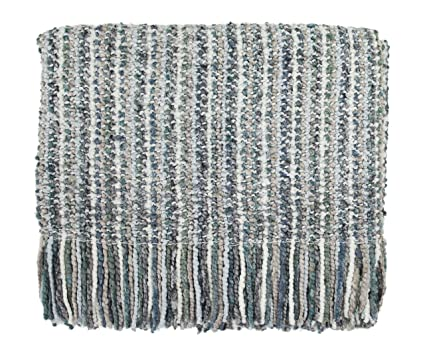 amazon com bedford cottage llc kennebunk collections stria 40 x rh amazon com Comfort Tech Faux Fur Throw bedford cottage throws hanover brown