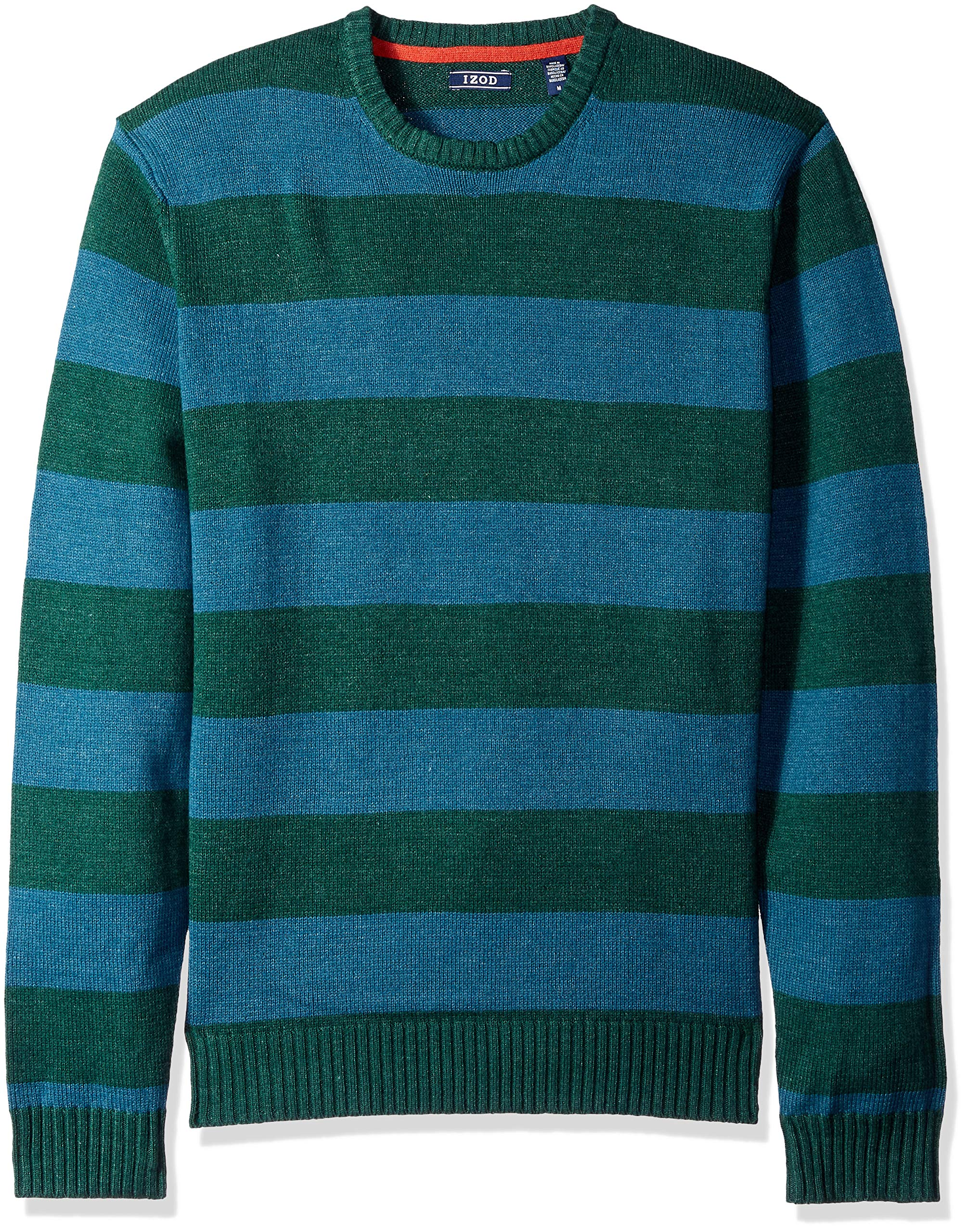 IZOD Men's Fine Gauge Crew Sweater, Rugby Bot Garden, XX-Large