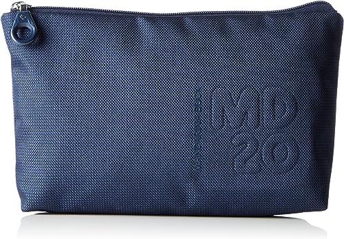 Mandarina Duck md20 minuteria BEAUTY cosmétiques Sac dress blue Bleu Nouveau