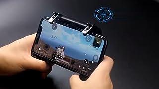 COOBILE Mobile Game Controller for PUBG Mobile Controller L1R1 Mobile Game Trigger Joystick Gamepad