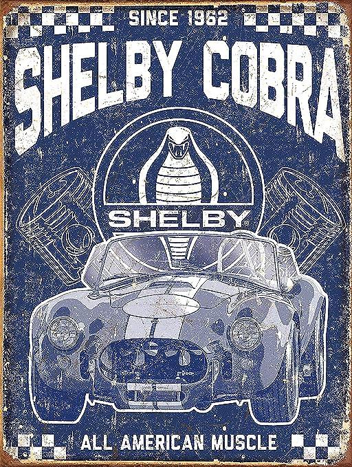 Cartel de publicidad para pared de metal de estilo retro ...