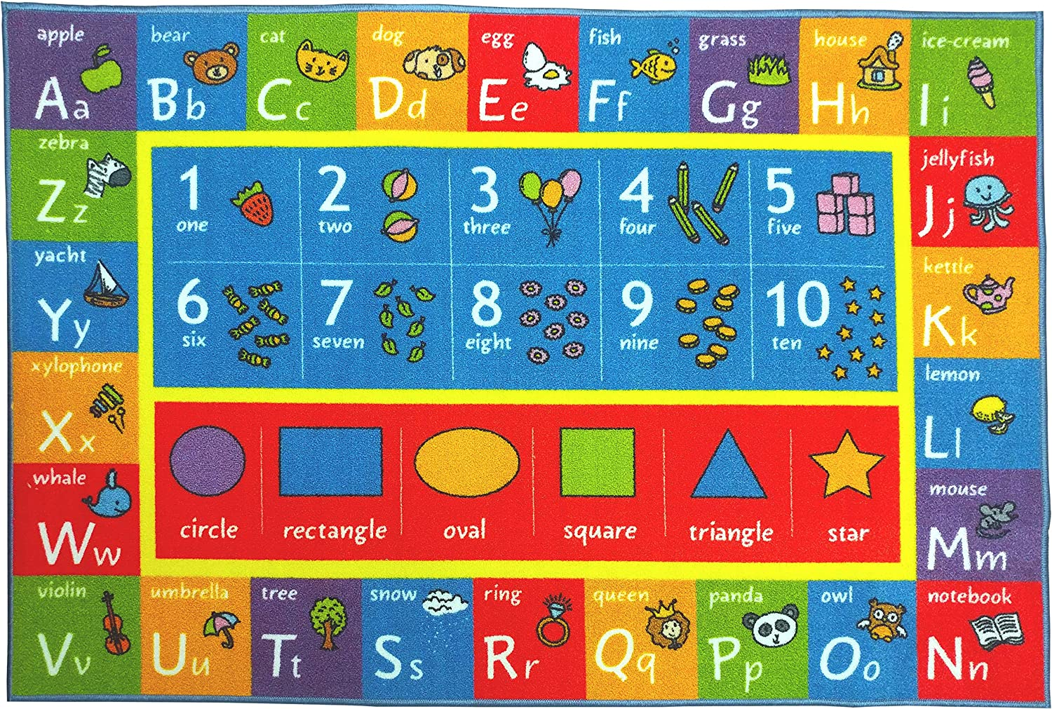 Amazon.com: KC Cubs Kev & Cooper Playtime Collection ABC, Numbers ...