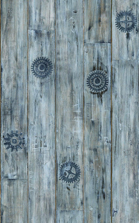 d-c-fix Folie Paternoster Holz selbstklebend Rolle 45 x 200 cm