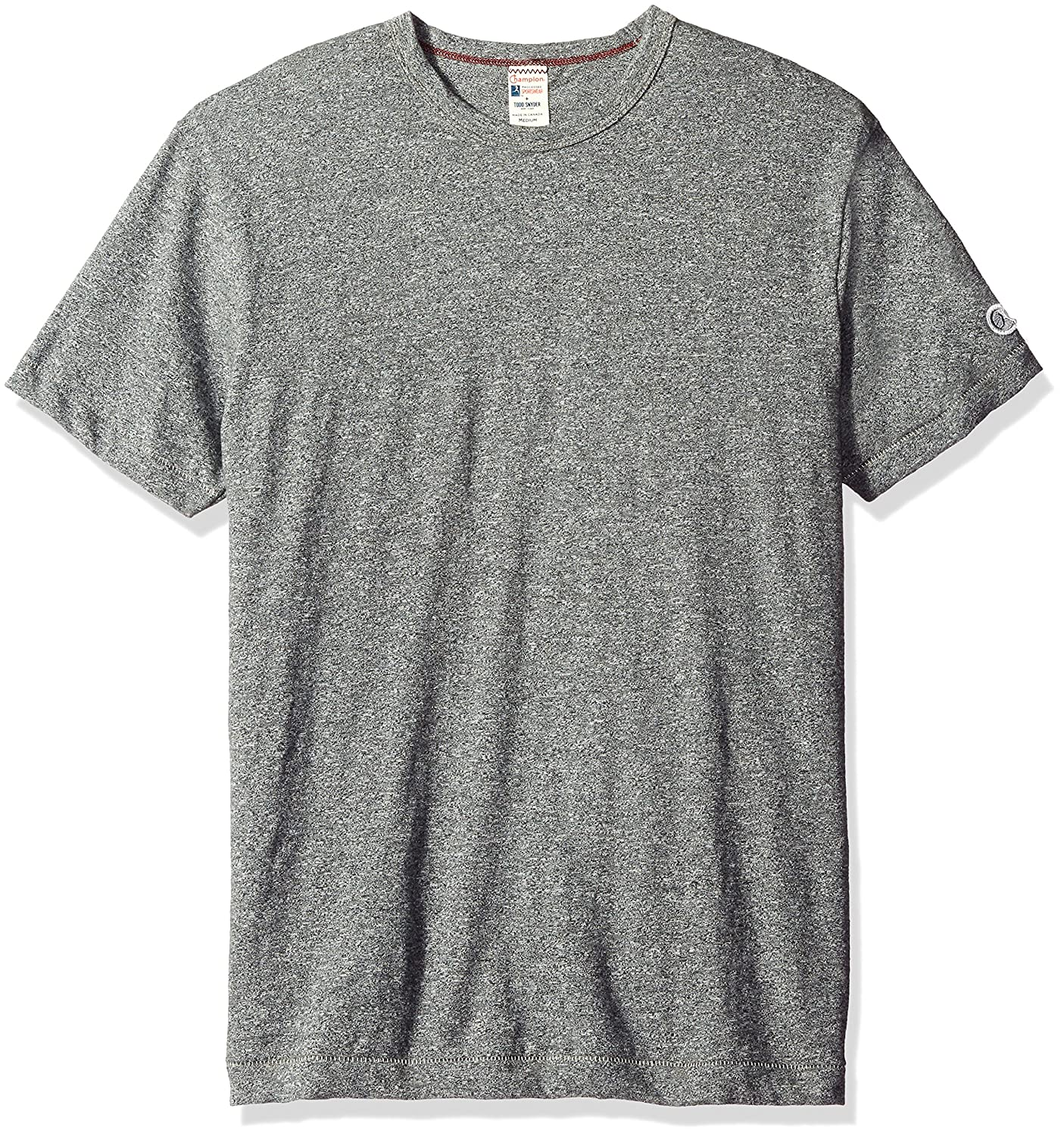 a236944e Todd Snyder + Champion Men's Heathered Basic Tee Salt/Pepper T-Shirt XS:  Amazon.co.uk: Clothing