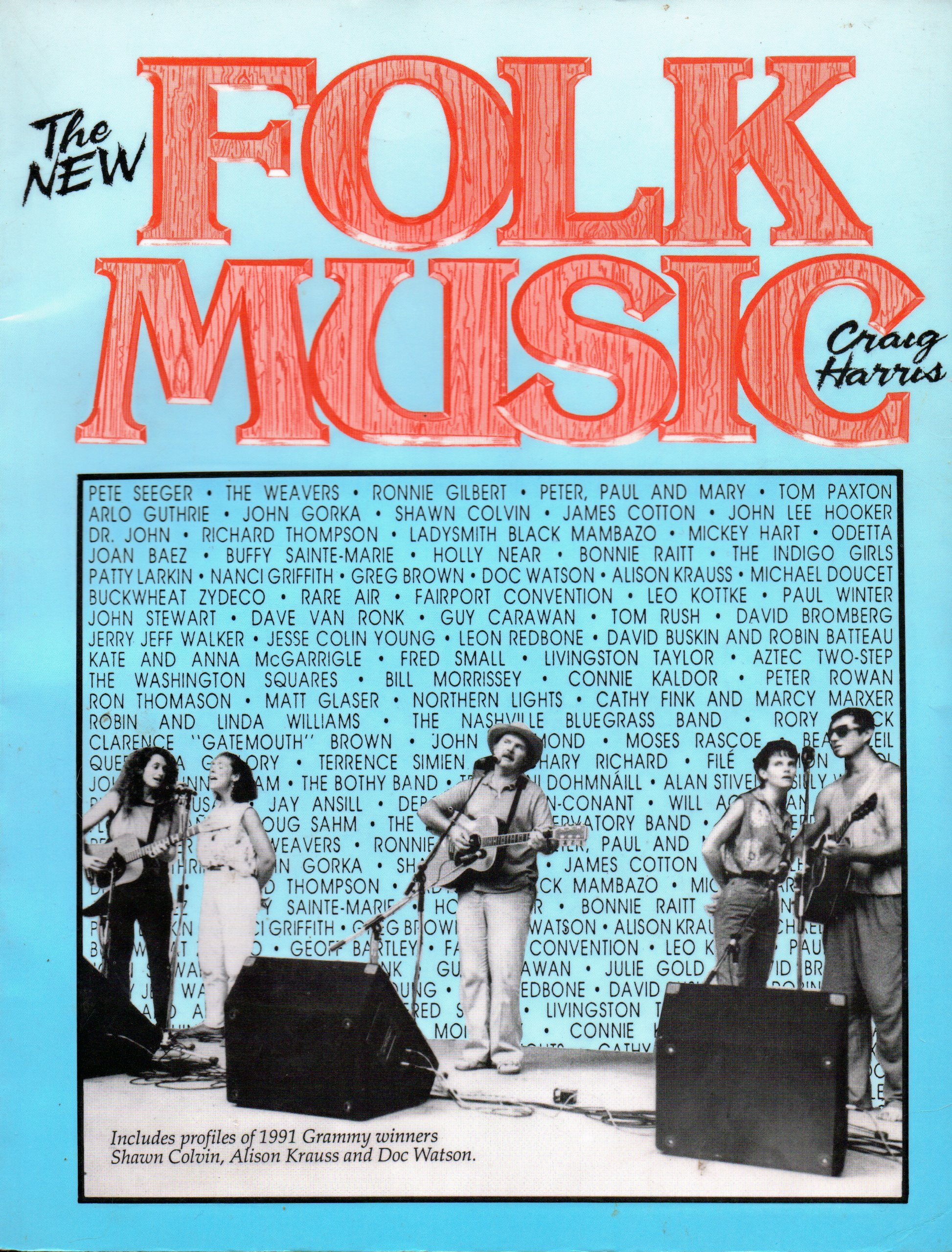 the new folk music first printing