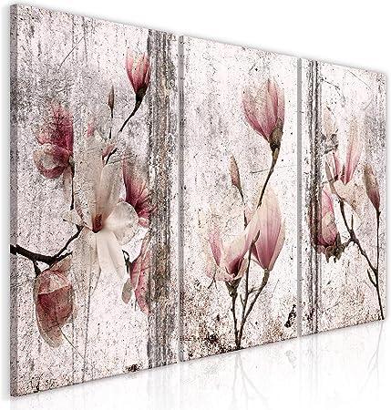 Leinwandbild Kunst-Druck 120x60 Bilder Blumen /& Pflanzen Weiße Rosen