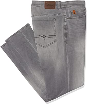 s.Oliver 15707713989, Jeans Homme, Grey Denim Stretch 93Z4, 38W x 34L