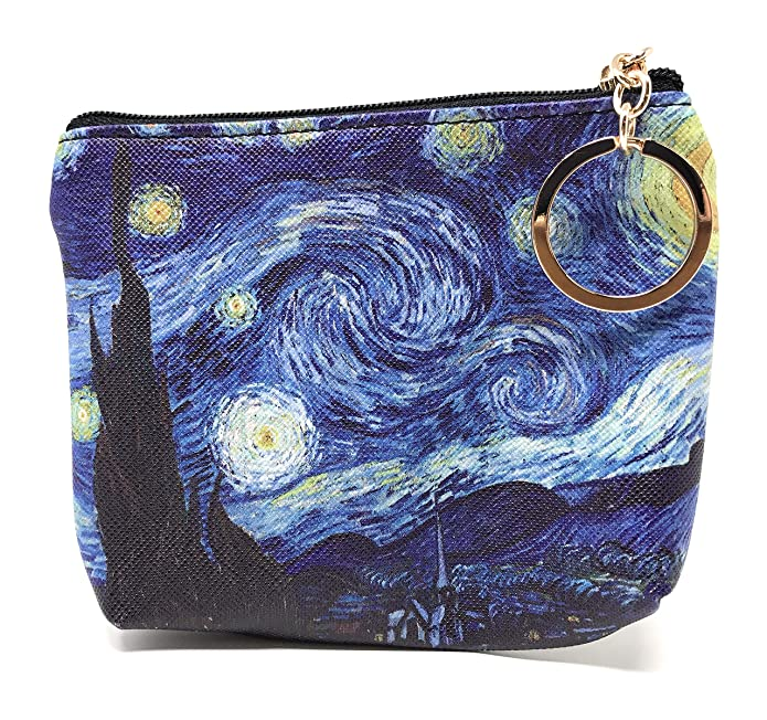 Amazon.com: Value Arts Van Gogh - Monedero con llavero: Shoes
