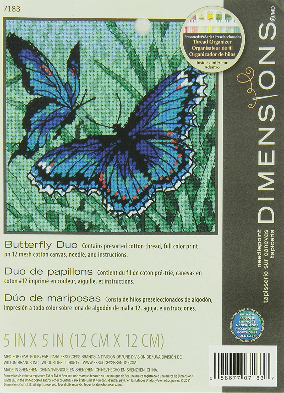 Dragonfly Needlepoint DIMENSIONS Needlepoint Kit 5 W x 5 H