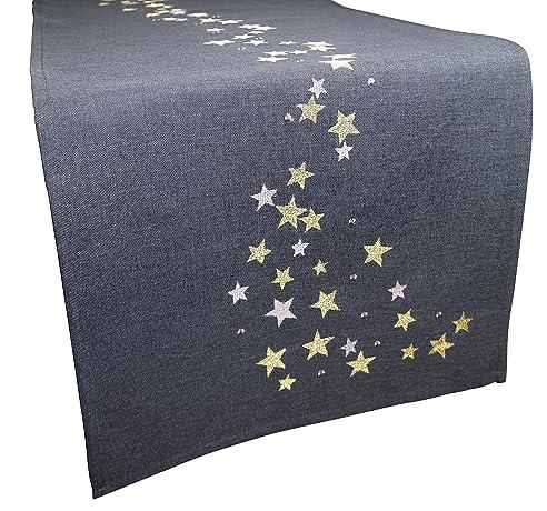 graue tischlufer excellent tischdecke tafeltuch rechteckig leinen x cm with graue tischlufer. Black Bedroom Furniture Sets. Home Design Ideas