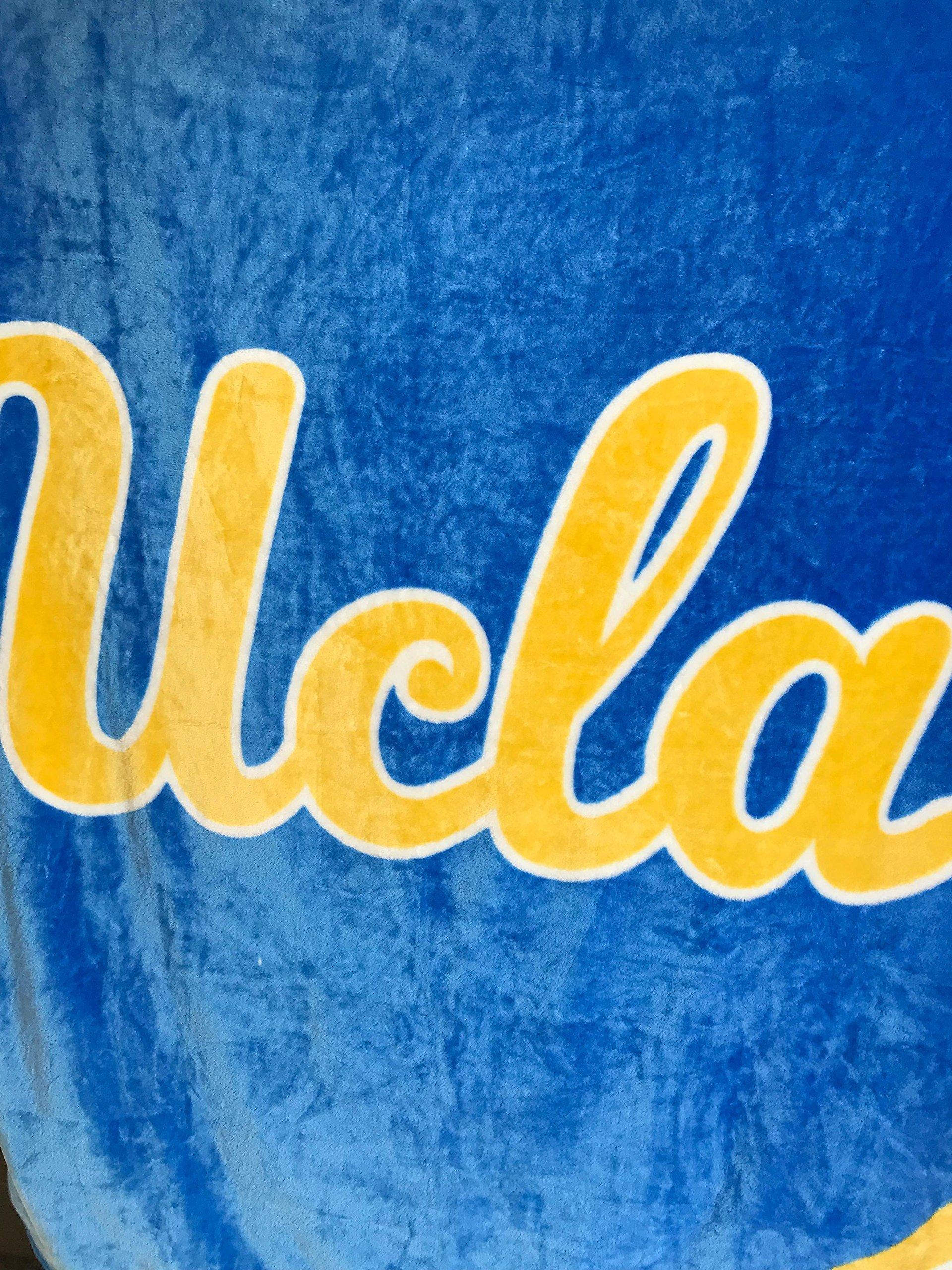 College Sport Oversized Deluxe Plush Blanket 60''X80'' UCLA