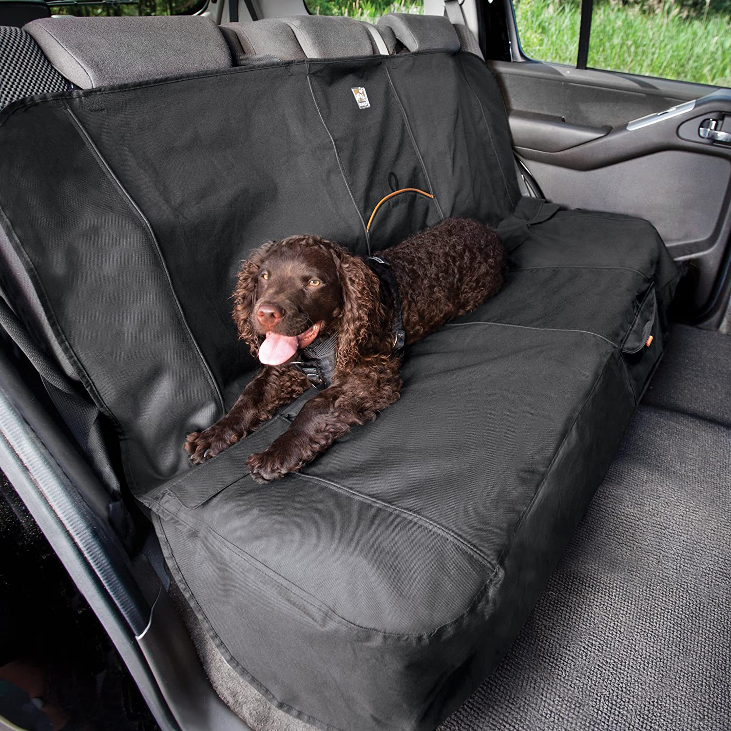 Kurgo Rear Car Seat Cover For Dogs Waterproof And Scratch Resistant Regular Size