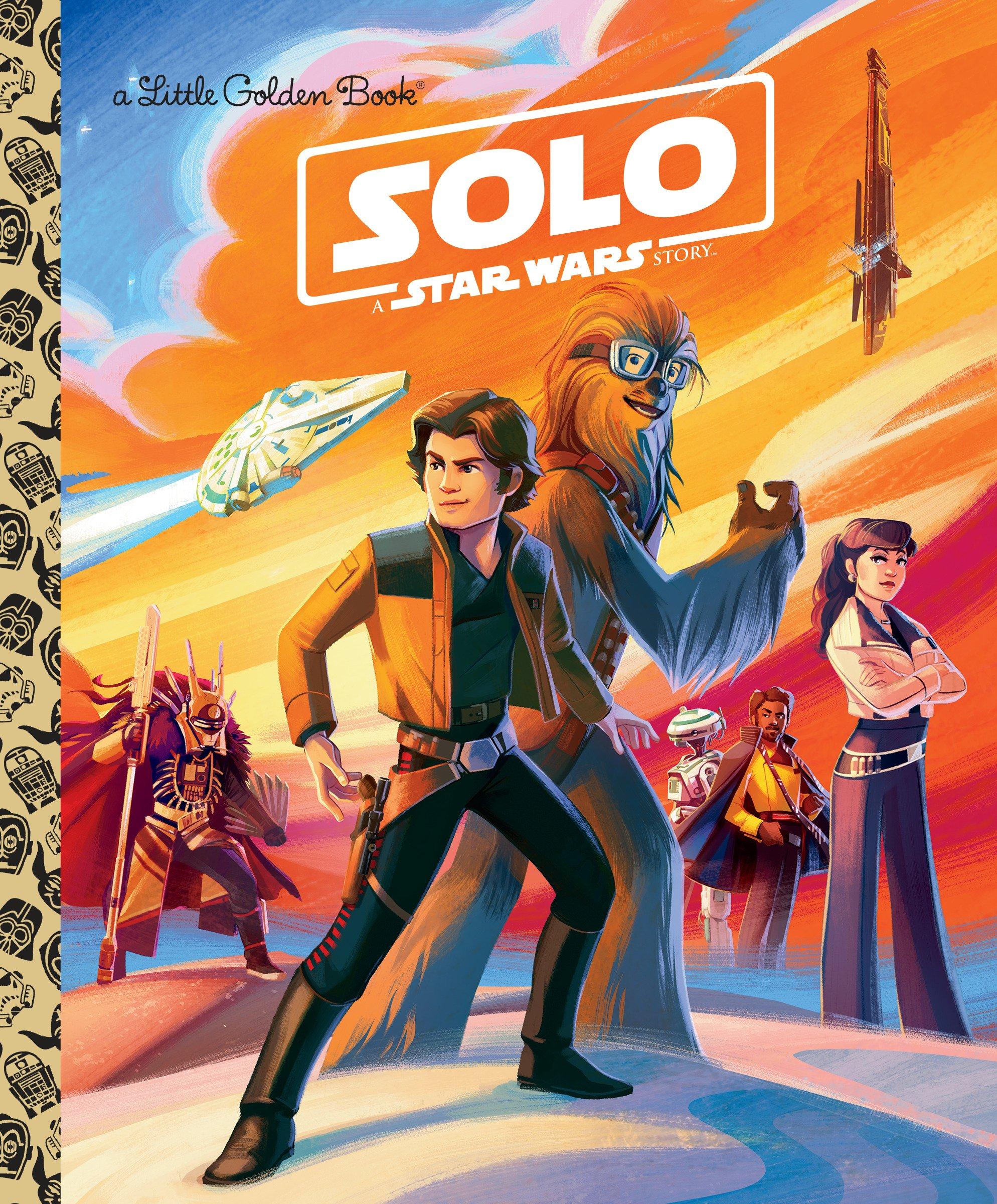 Solo: A Star Wars Story (Star Wars) (Little Golden Book): Elizabeth  Schaefer, Pilot Inc.: 9780736438759: Amazon.com: Books