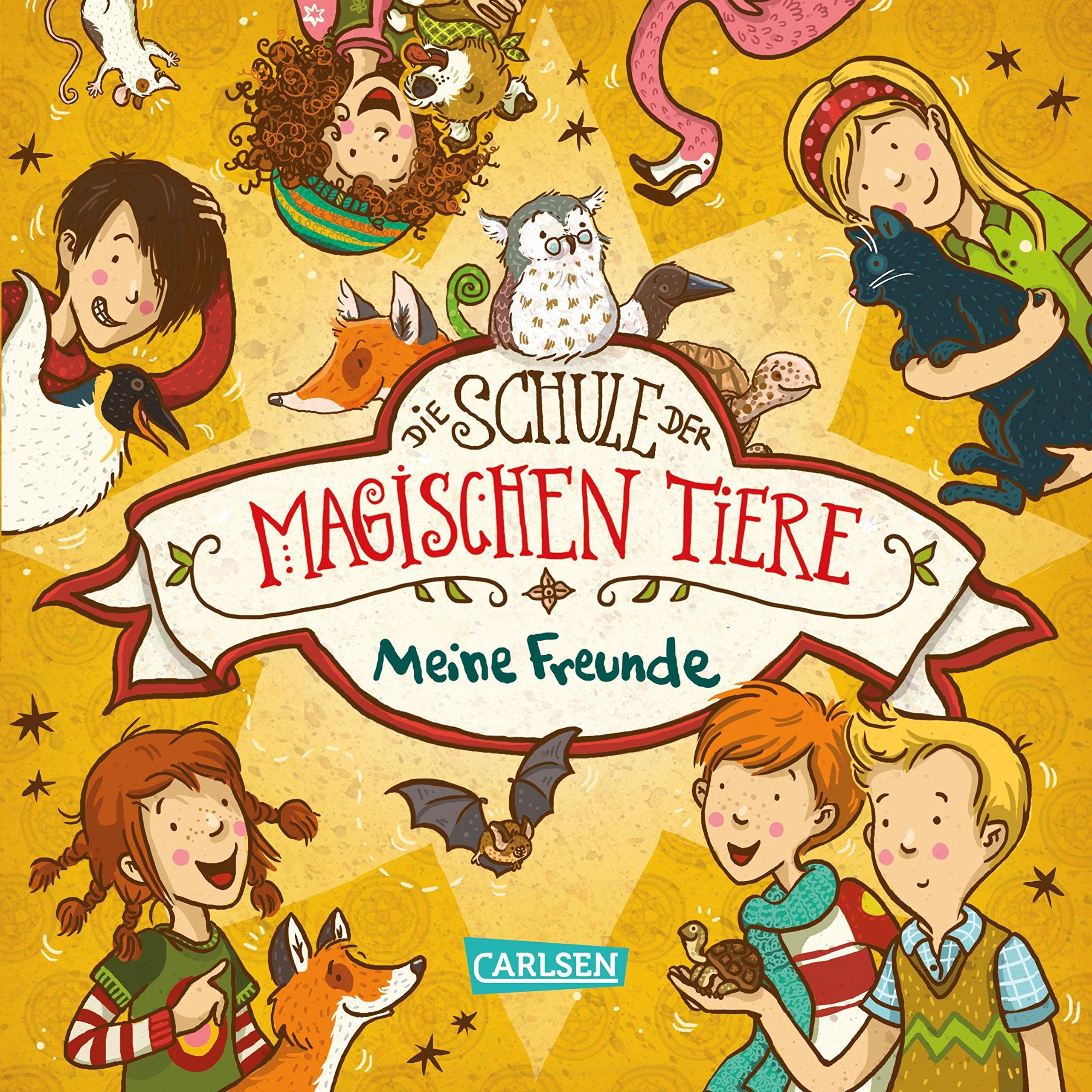 Die Schule der magischen Tiere: Meine Freunde Gebundenes Buch – 25. Juli 2018 Margit Auer Nina Dulleck Carlsen 3551650330
