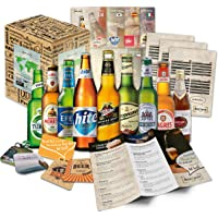 Cadeau de Noël pour hommes Bières du Monde (9x0.33l) Noël autour du monde | Cadeau de noel homme cadeau papa homme papa pour noel