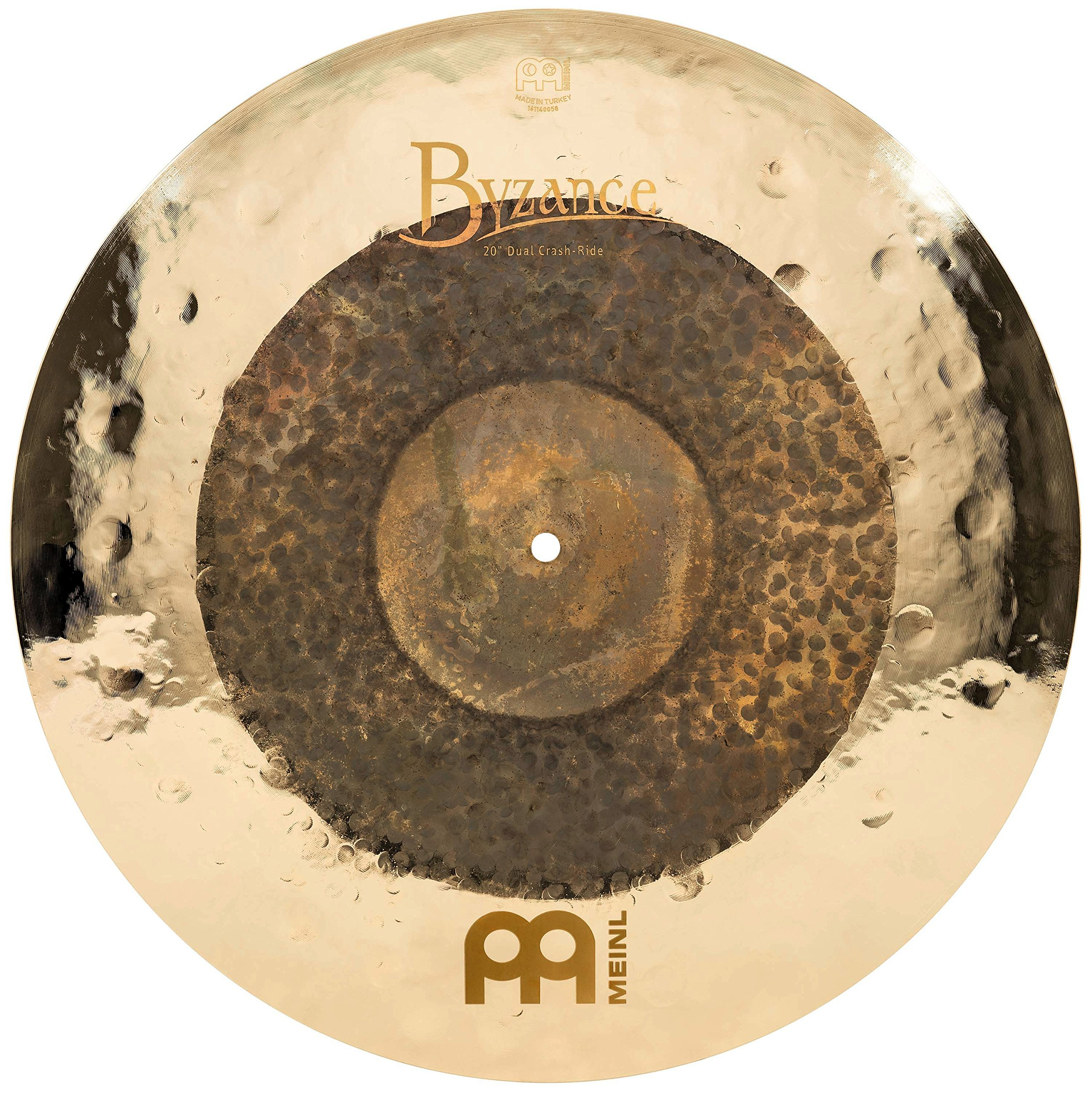 Meinl Cymbals B20DUCR Byzance Extra Dry 20-Inch Dual Crash/Ride Cymbal (VIDEO)