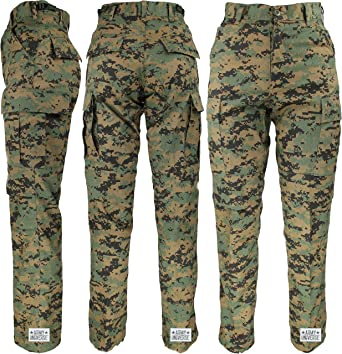 Army Universe Woodland Digital Camo Military BDU Cargo Pants with Pin (W  23-27 719e831f69c