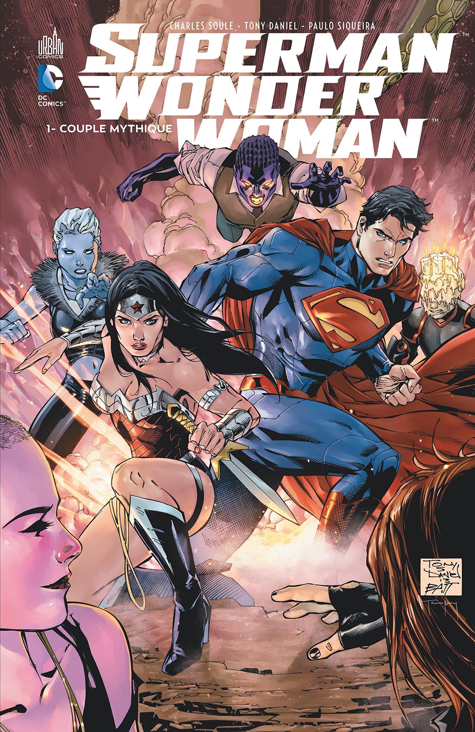 superman wonder woman couple