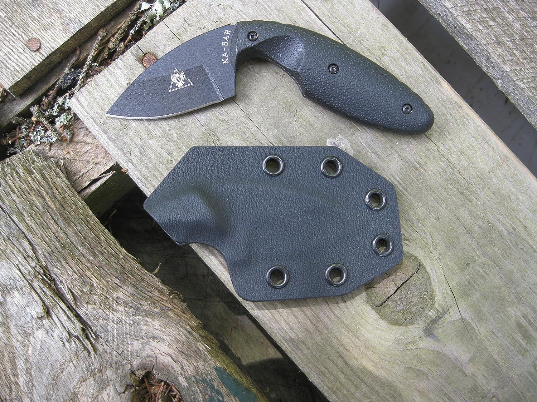 Valhalla Custom Kydex Sheath Ka-Bar TDI Small 1480 Black 2 pc