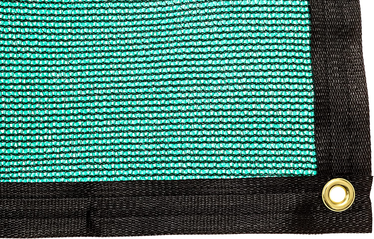 Be Cool Solutions 70 Green Outdoor Sun Shade Canopy UV Protection Shade Cloth Lightweight, Easy Setup Mesh Canopy Cover with Grommets Sturdy, Durable Shade Fabric for Garden, Patio Porch 20 x24