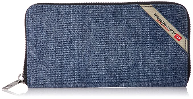 Amazon.com: Diesel Mens Denimline 24 Zip-Wallet: Clothing