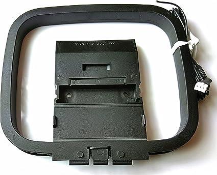 Sony AM/FM antena Loop Mini 3 pines para agitar y hcd-shake modelo receptores